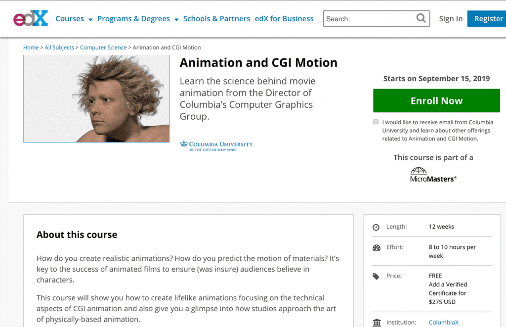 7 Best Animation Online Courses and Classes with Certificate