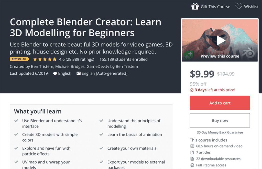 9 Best Blender Online Courses, Classes & Tutorials with