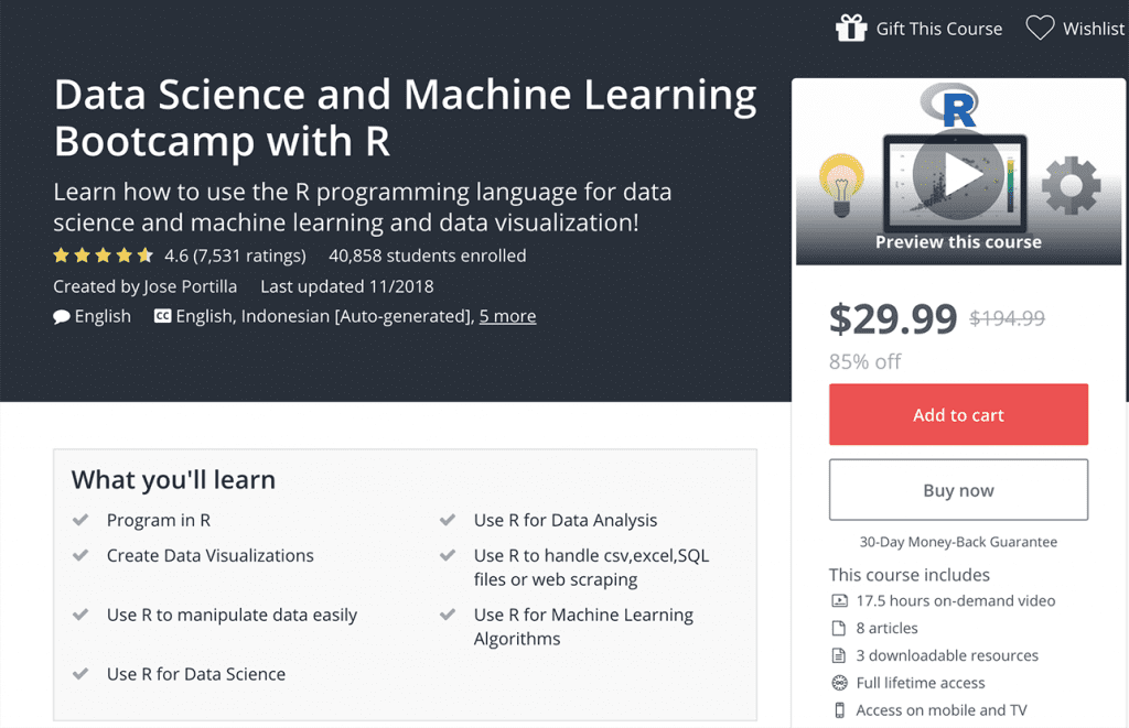 9 Best Machine Learning Online Classes, Courses & Tutorials