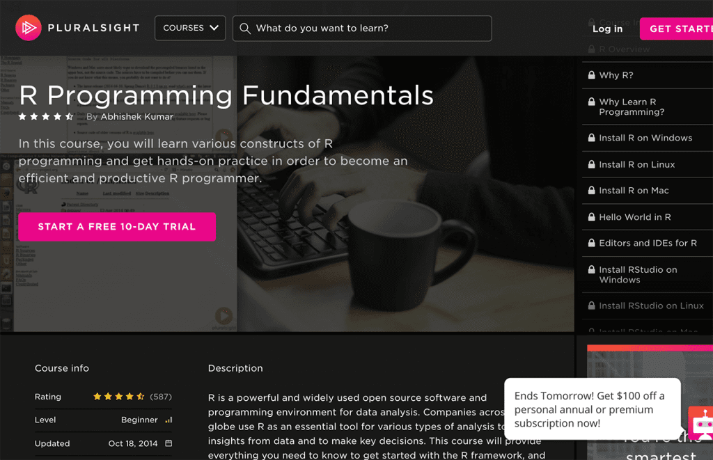 7 Best R Programming Online Courses, Tutorials and Classes