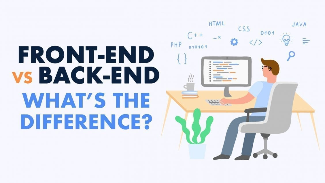 frontend vs backend whats the difference feature image