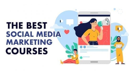 social media marketing courses feature graphic