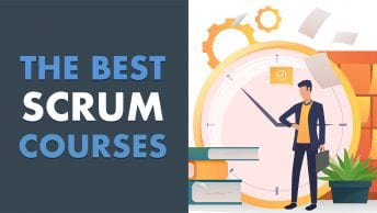 best scrum online courses feature image